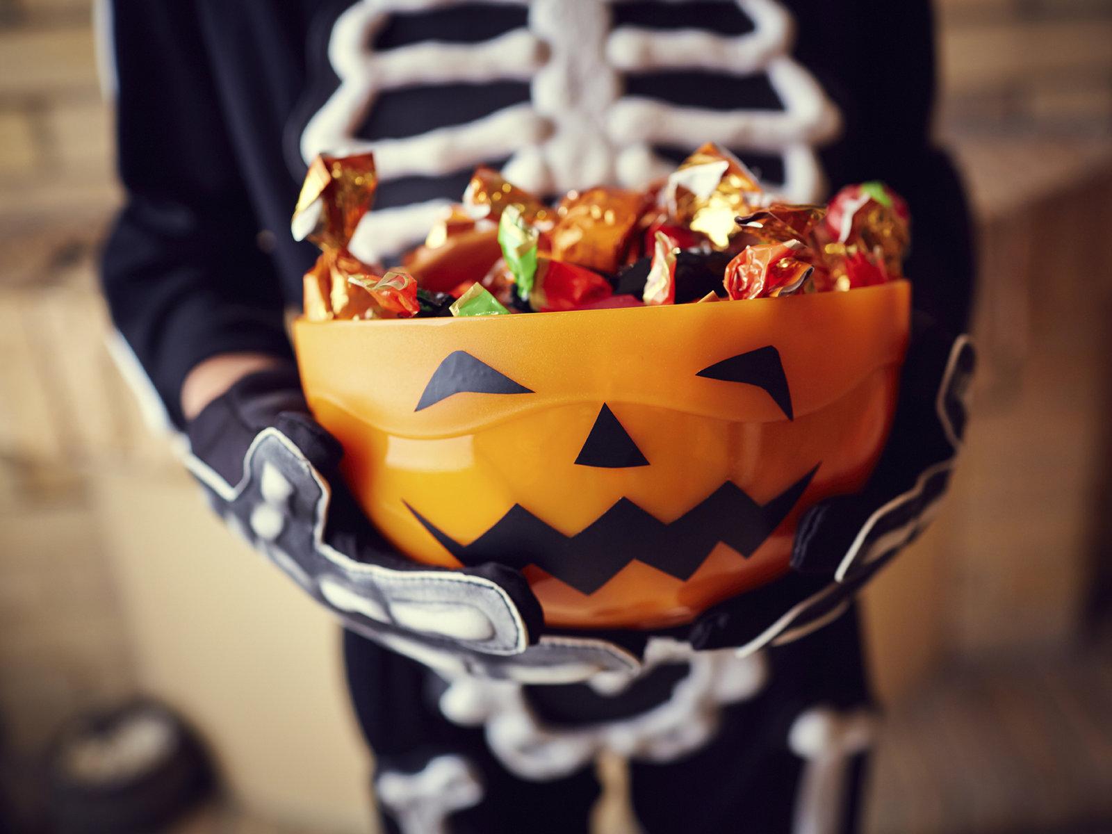 Dulces de Halloween: ¡mejor a salvo y sin amenazas!