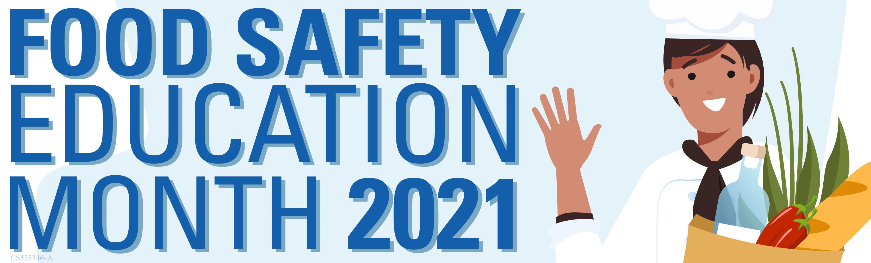 Logotipo del Mes de Educación sobre la Seguridad Alimentaria 2021
