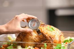 Temperaturas mínimas seguras de cocción